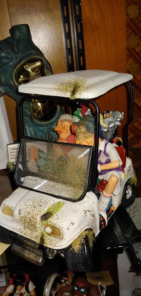 Guillermo Forchino - Los golfistas en buggy (mini)