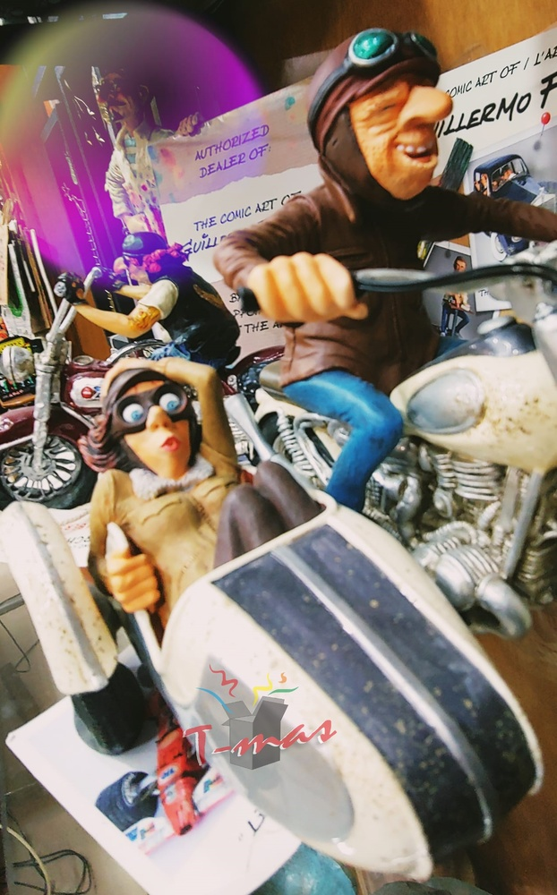 Guillermo Forchino - Viaje en sidecar