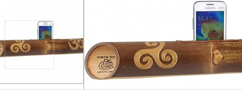 Sprecher-Bambus-triskel-om-geschnitzt-a