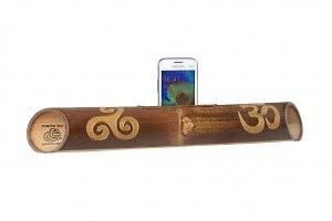 speaker-bamboo-triskel-om-carved-c