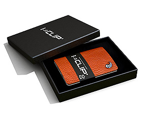 I-clip Wallet (lether color)