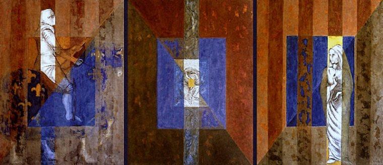 Faura Montserrat - Der Rosenkavalier (full Wandgemälde)