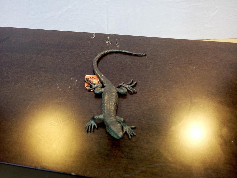 Moreno Art Studio - Bronze Eidechse