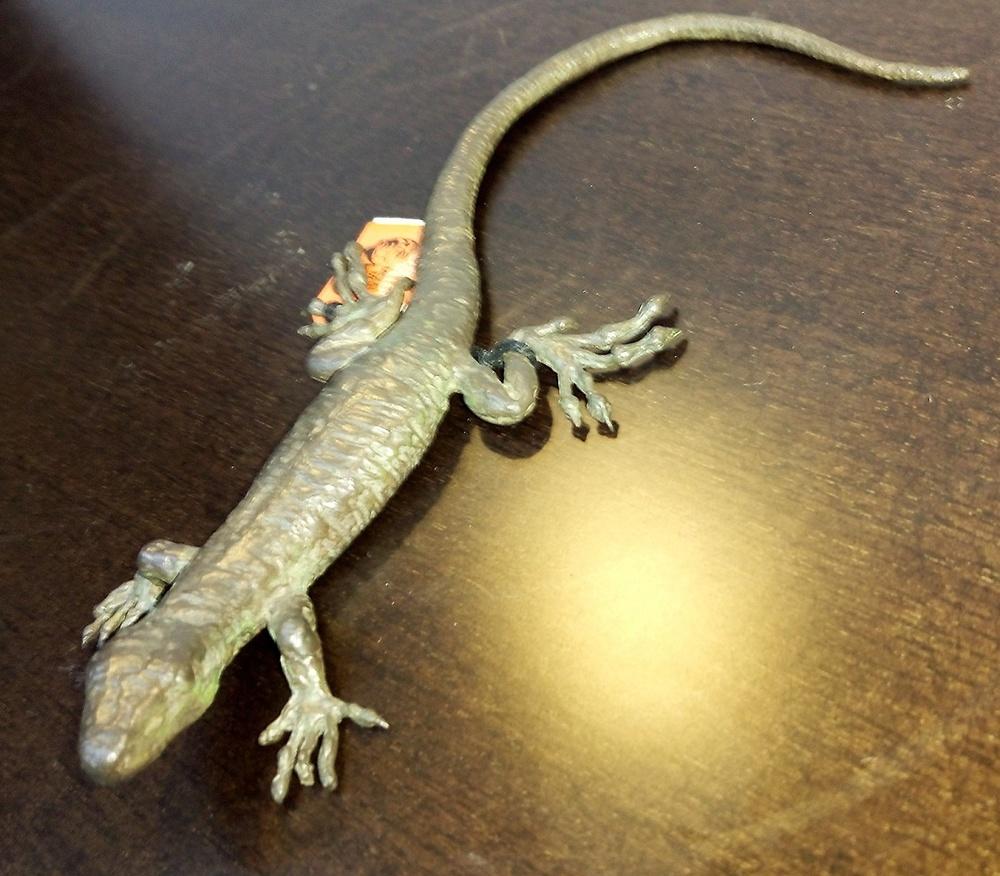 Moreno Art Studio - Bronze Lizard