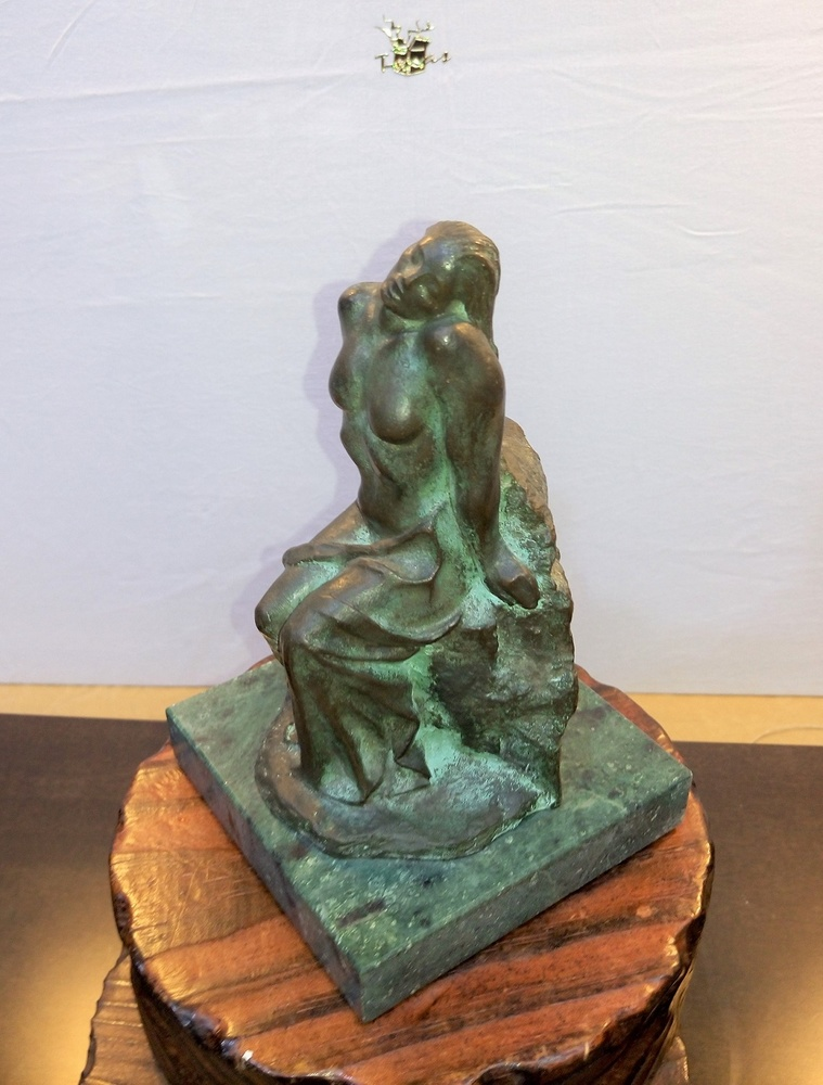 Moreno Art Studio - Woman on Rock