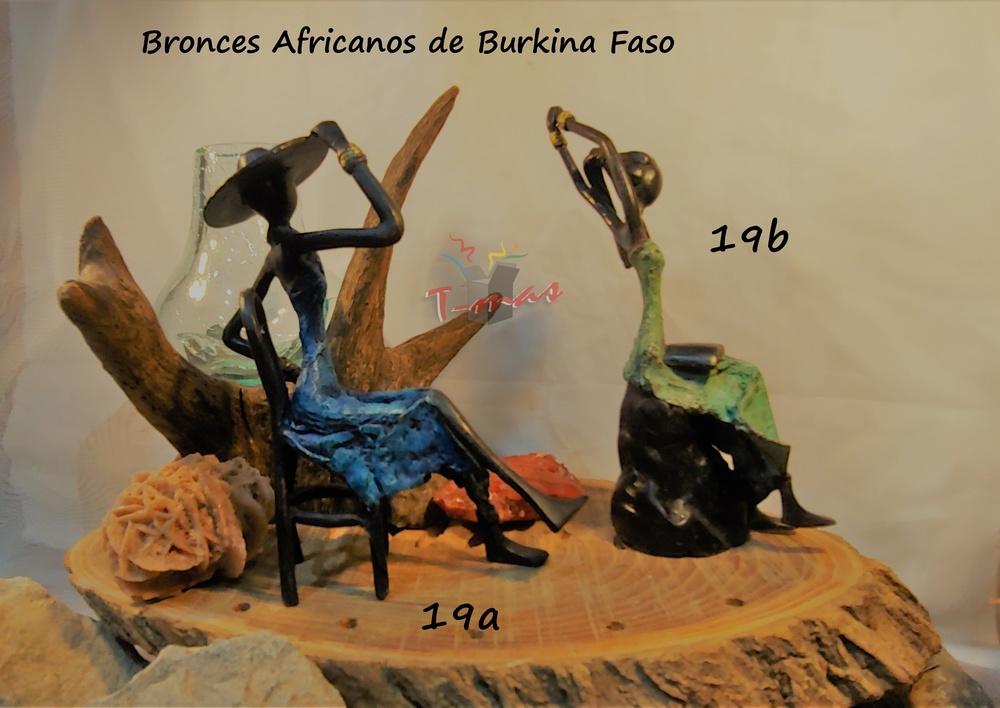 Mujeres africanas sentadas