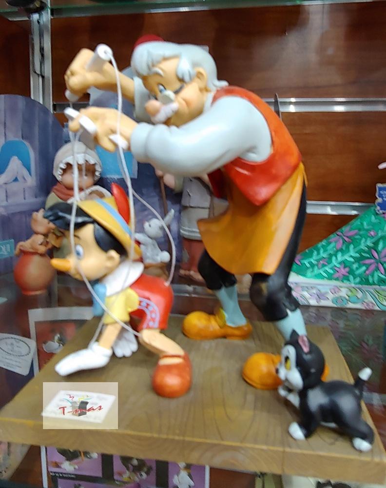 Pinocho con Gepeto - Colección Disney