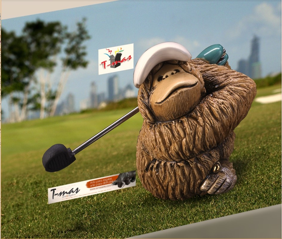 Rinconada De Rosa - Golfspieler (Gewerke-Sammlung)