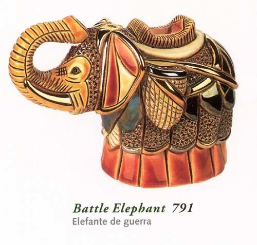Rinconada Kriegselefant Jahrestag 791