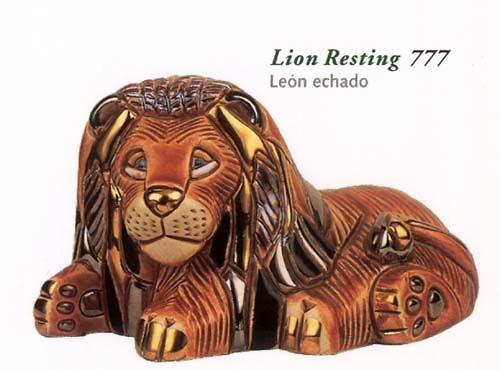 Rinconada león sentado Anniversary 777