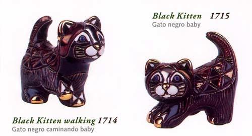 Rinconada schwarze Katzenbabies 1714/15