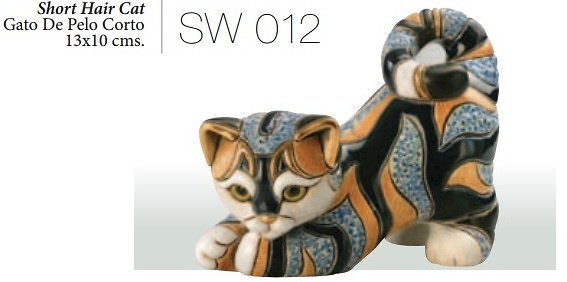 Shorthair cat, SW012. DeRosa Rinconada.