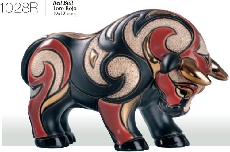 Toro rojo. 1028R. DeRosa Rinconada.