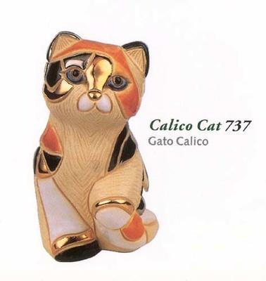 rinconada katze calico jahrestag 737 sammlerst cke stilvolle geschenke kunsthandwerkliche. Black Bedroom Furniture Sets. Home Design Ideas