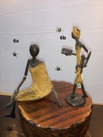 "African Bronzes - ""Sitting Woman"""