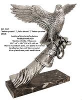 "Angeles Anglada - ""Falcon perched"""