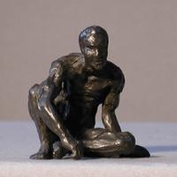Arte Moreno - Hombre agachado fig/008