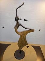 """Bronces Africanos - """"Mujer danzando"""""""