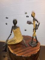 "Bronces Africanos - ""Mujer sentada"""