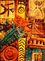 "Eva Traumann - Pintadera ""Loco patchwork"""