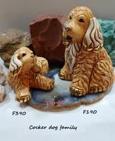 Familia de perros cocker - DeRosa Rinconada