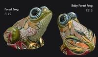 Familia de ranas de bosque - DeRosa Rinconada