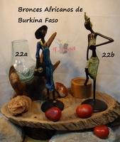 """""""Frauen gehen oder tanzen"""" - Afrikanische Bronzen"""