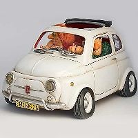 Guillermo Forchino - Fiat 500 littel jewel