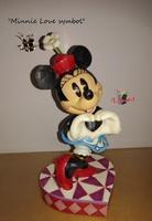 """Minnie's love symbol"", ""Disney Collection""."
