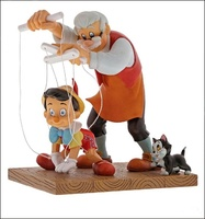 Pinocchio with Gepet - Disney Collection